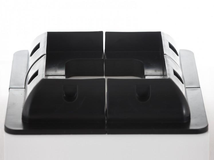 130w Motorhome Solar Panel Kits Glue Mounts Motorhome