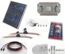 dual battery motorhome solar panel kit