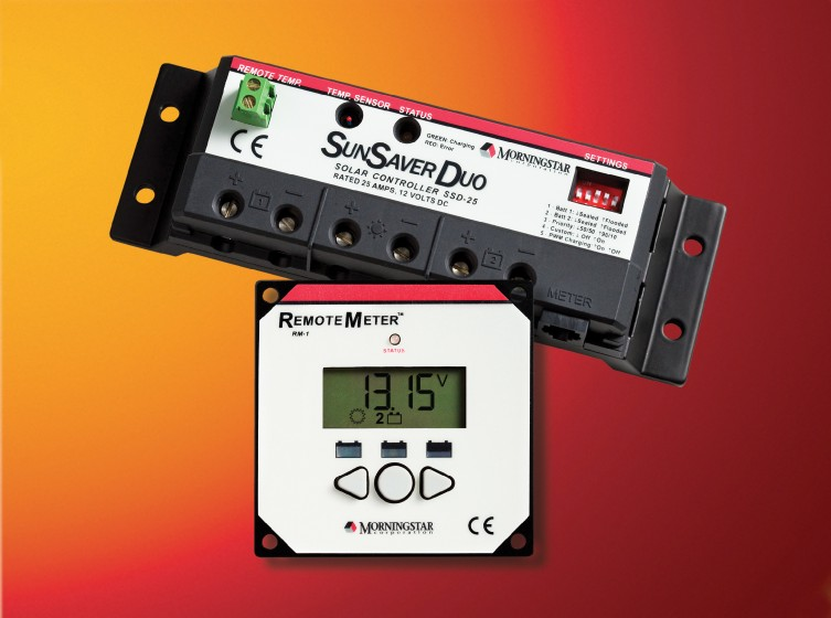 Sunsaver Duo 25 With Monitor Select Solar The Solar