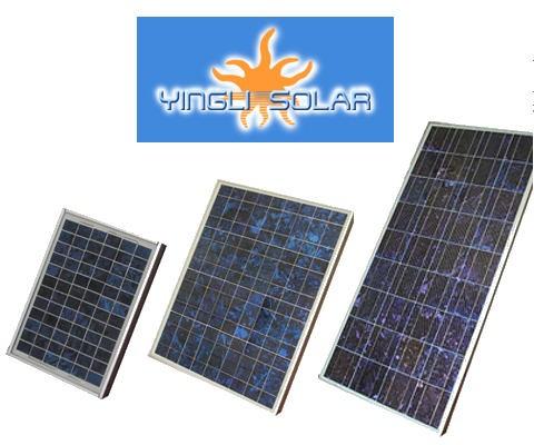 10W Yingli Solar polycrystalline panel