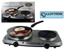 double cooking stove