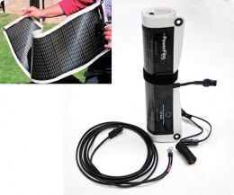 Powerfilm R7 7W Rollable Solar Panel