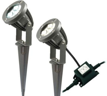 Lumilife 3 X 1w Led Garden Spike Light Pack Select Solar