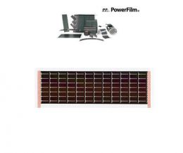 Powerfilm RC7.2-75 (100mA @ 7.2V) with pressure sensitive adhesi