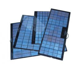 Low-profile Inpro solar panels