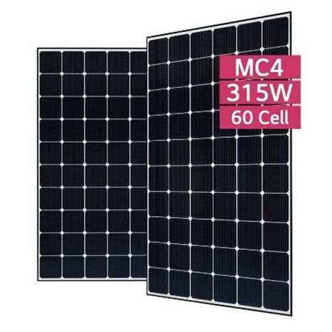 lg 315 wp solar pv module select solar the solar professionals select solar the solar power. Black Bedroom Furniture Sets. Home Design Ideas