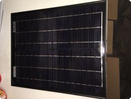 Select Solar 20w Mono All Black Panel - Front