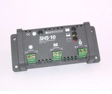 Shs 10a 12v Solar Panel Charge Regulator Charger