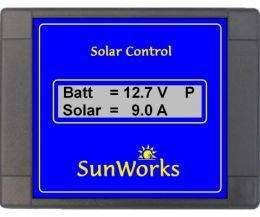 Sunworks 15A Solar Controller with LCD Display