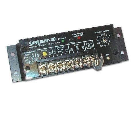 Sl 20l 12v Solar Panel Charge Regulator Charger