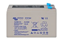 12V 8Ah AGM Deep Cycle Battery (front)