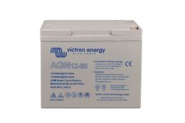 12V 60Ah AGM Super Cycle Battery (front-angle)