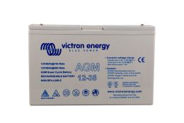 12V 38Ah AGM Super Cycle Battery (front)