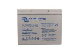 12V 60Ah AGM Super Cycle Battery (front)