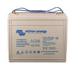 AGM Super Cycle Battery 12V 170Ah (front)
