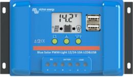 BlueSolar Charge Controller LCD&USB 12-24V-10A (top)
