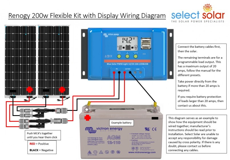 Renogy Wiring Diagram from www.selectsolar.co.uk
