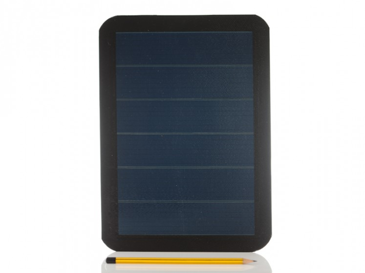3w Flexible Solar Charger Ideal For Charging A 6v Battery